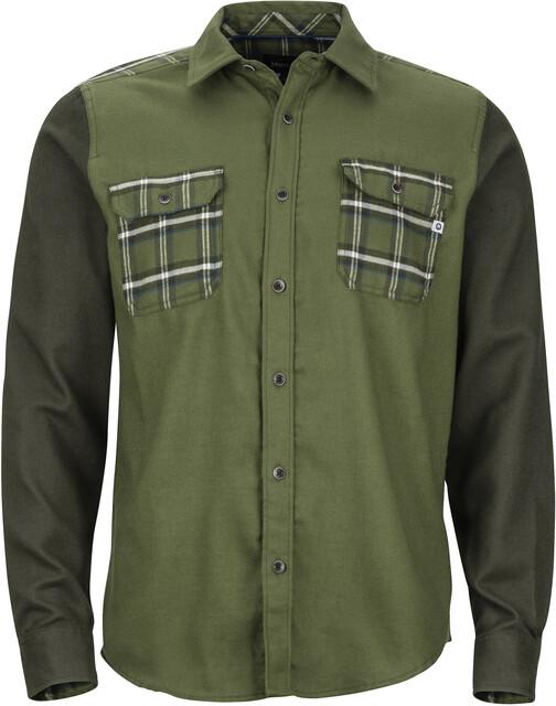 Marmot M's Pinyon Heavyweight Flannel LS Shirt Bomber Bomber Bomber Grön/Rosin Grön ac8310